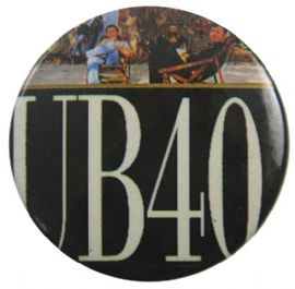 UB40 - 'Name Deck Chairs' Button Badge